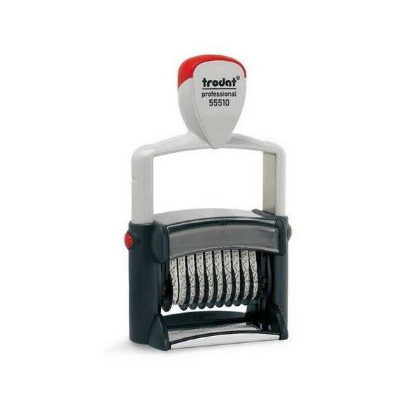 Trodat 55510 Professional Numberer 10 Band 5mm Black T555109