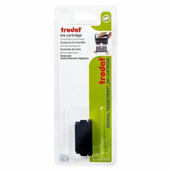 Trodat 6/4911 Ink Cartridge Clothing Marker Black Db T64911CM9