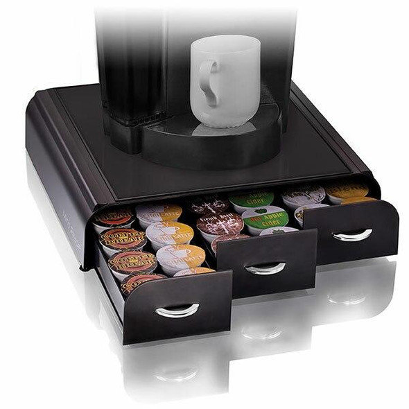 Esselte Anchor 36 Capacity Coffee Pod Blk TRY3PCBLK