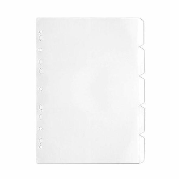 CUMBERLAND 5 Tab Divider A4 White 141640