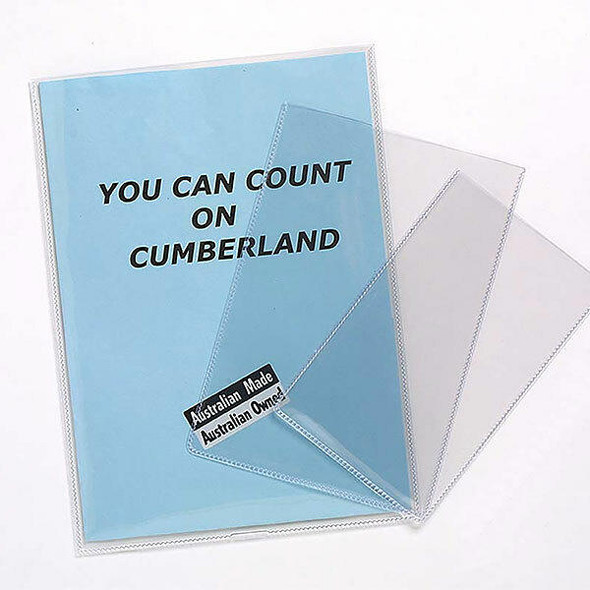 CUMBERLAND Document Holder 200 Micronron A4 Clear SP6338