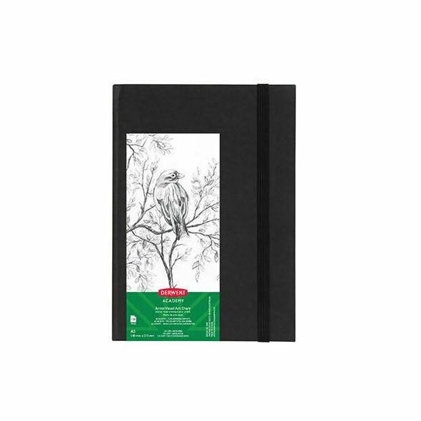 DERWENT Academy Casebound Visual Art Diary A5 Portrait 128 Pages X CARTON of 5 R31300F