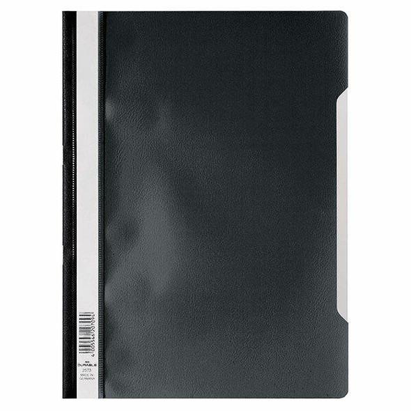 DURABLE Clear View Folder A4 Black 257301