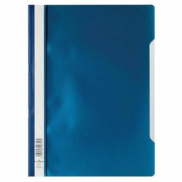 DURABLE Clear View Folder A4 Dark Blue 257307