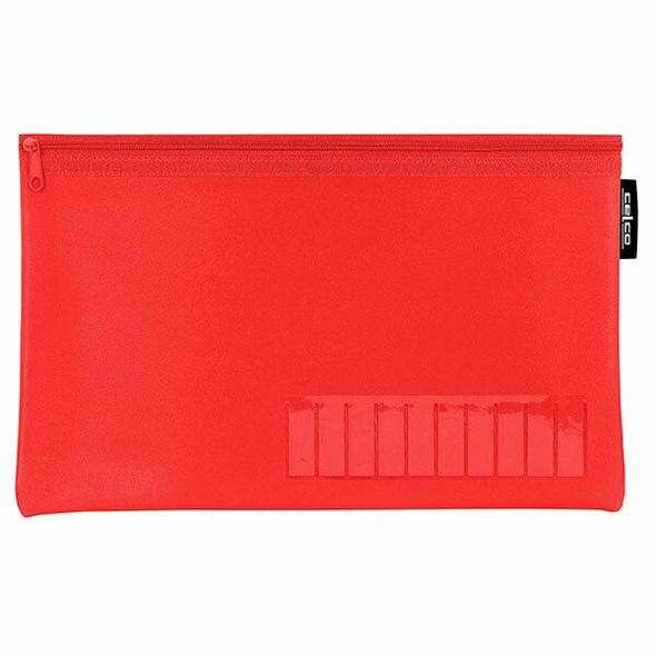 Celco Pencil Case Red X CARTON of 10 974456