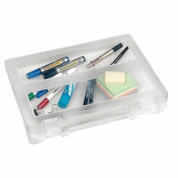 Marbig Plastic Clear Case A4 W/Handle X CARTON of 6 22003