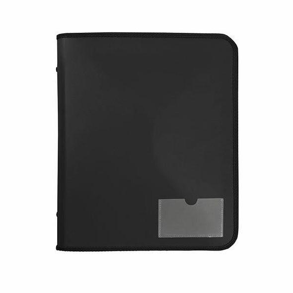 Marbig Zipper Binder W/ Tech Case 25mm 2d Black X CARTON of 10 6980002