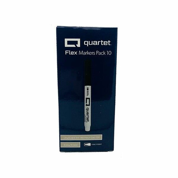 Quartet Flex Marker Box30 X CARTON of 10 QTMKRBLKBX10