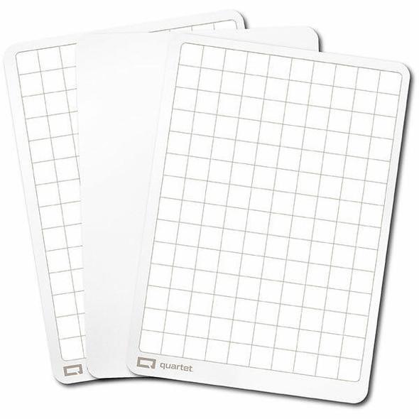 Quartet Flex Whiteboard Double-Sided Plain/Grid Pack30 QTFLEX30PLGD