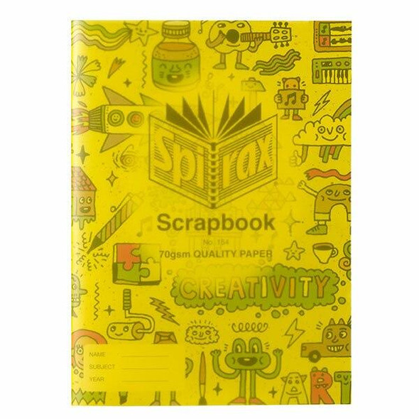 Spirax 154 Scrapbook 335x240 64page X CARTON of 10 56154