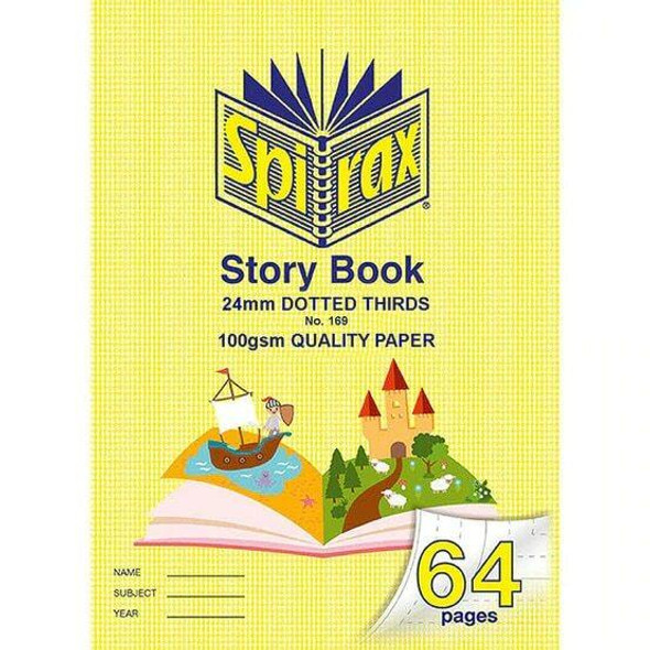 Spirax 169 Story Book 100gsm 24mm X CARTON of 10 56169