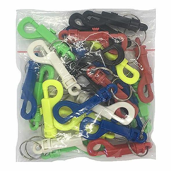 Kevron Al1032 Plastic J-Clip Assorted Bag 25 45717