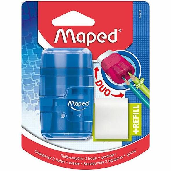 Maped Connect Sharpener/Eraser Translucent X CARTON of 6 8049210