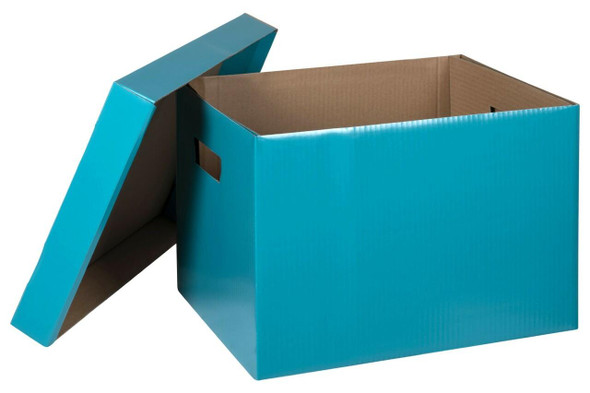 Marbig Archive Box Teal X CARTON of 10 8018104