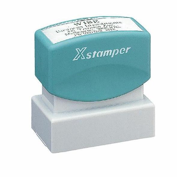 XSTAMPER CUST N12 PRE INK STAMP SIZE 21 N12