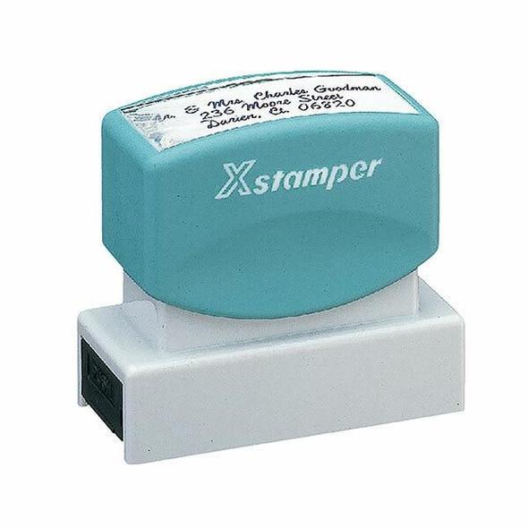 XSTAMPER CUSTOM N14 PRE INKED STAMP N14