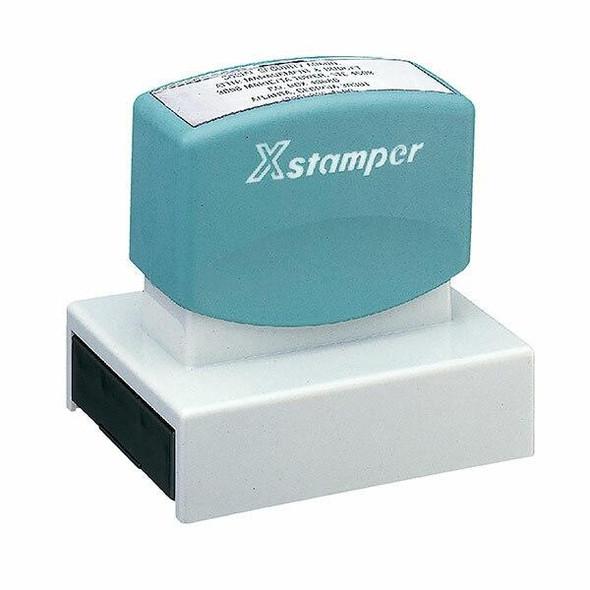XSTAMPER CUST N22 PRE INK STAMP SIZE 24 N22