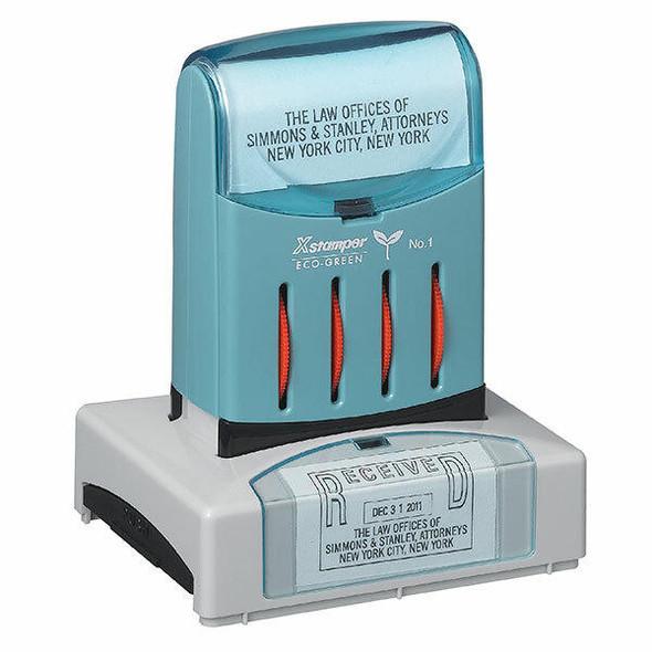 XSTAMPER CUSTOM N82 PRE INKED STAMP N82