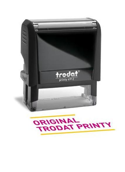 TRODAT 4912 PRINTY RUBBER ONLY SIZE 8 PRR4912