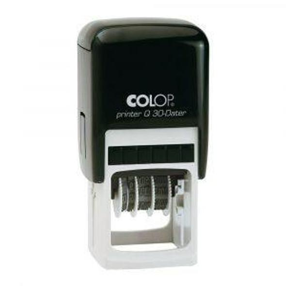 COLOP Q30 DATER 31X31MM Q30D