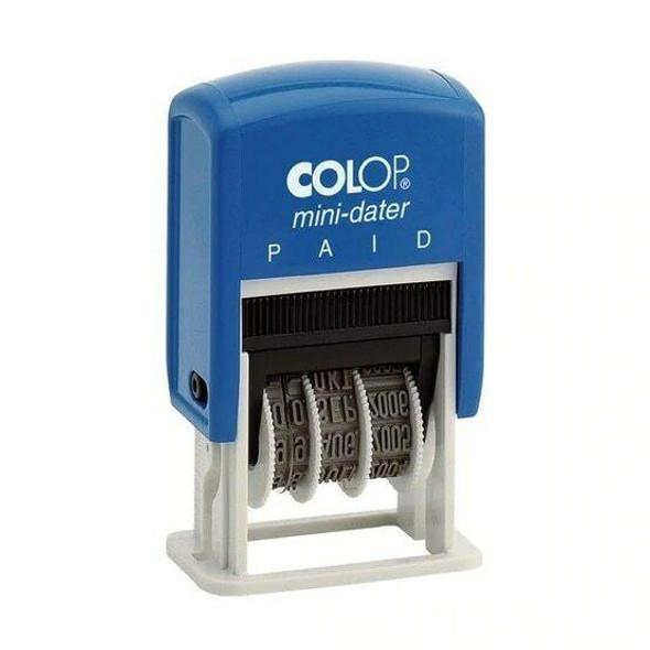 COLOP S160 MINI DATER 4MM 25X5MM S160