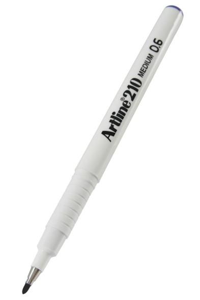 Artline 210 Fineliner Pen 0.6mm Purple BOX12 121006