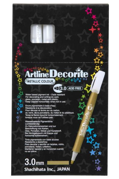 Artline Decorite Metallic 3.0 Gold BOX12 140331