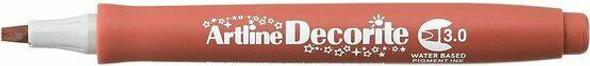 Artline Decorite Standard 3.0 Brown BOX12 140308
