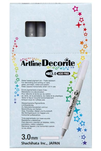 Artline Decorite Standard 3.0 White BOX12 140300
