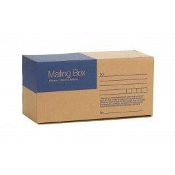 CUMBERLAND Mailing Box 400 X 200 X180mm CARTON of 25 7121A