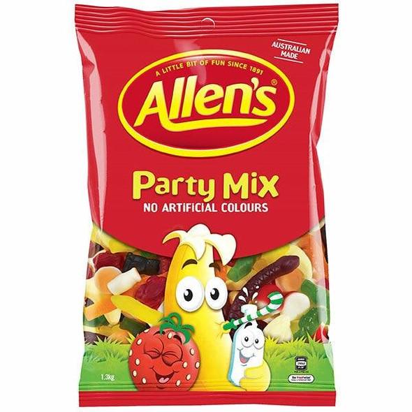 ALLENS PARTY MIX 1.3KG BAG X CARTON of 6 109099