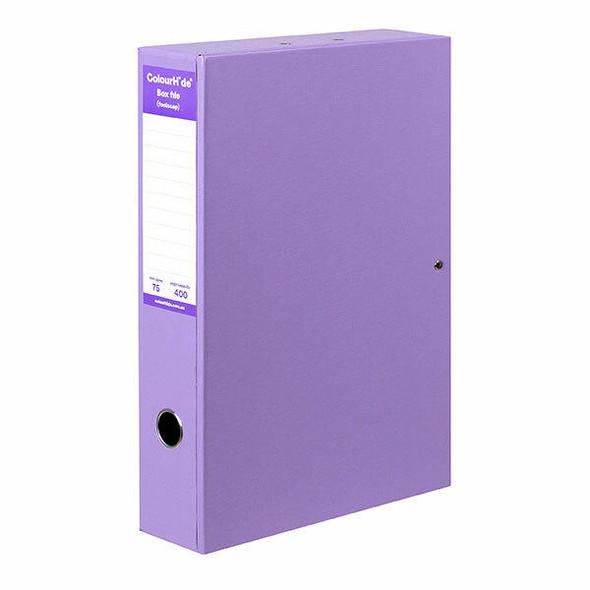 Colourhide Box File Pe A4 X CARTON of 4 8001019J