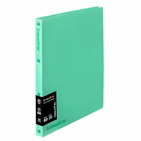 Colourhide Display Book Refillable 20 Sheet X CARTON of 10 2002807J