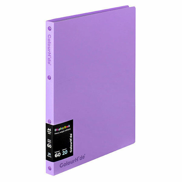 Colourhide Display Book Refillable 20 Sheet X CARTON of 10 2002819J