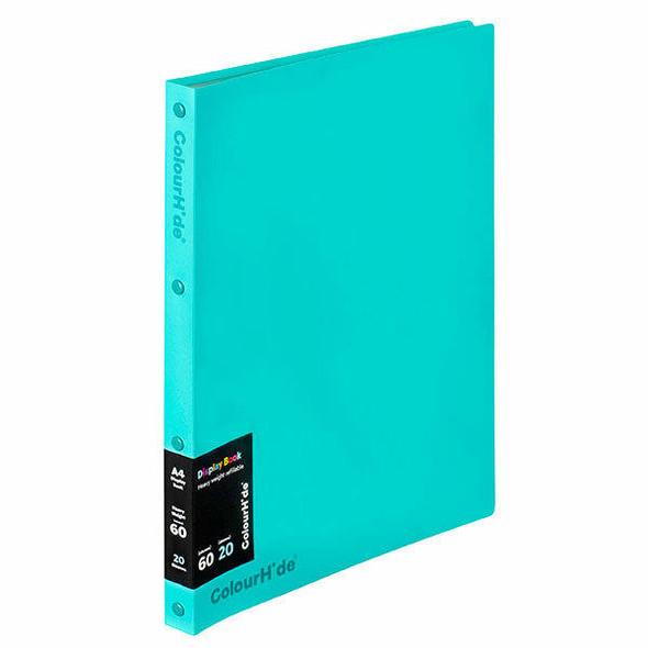 Colourhide Display Book Refillable 20 Sheet X CARTON of 10 2002832J