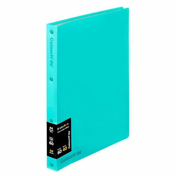 Colourhide Display Book Refillable 40 Sheet X CARTON of 10 2002432J
