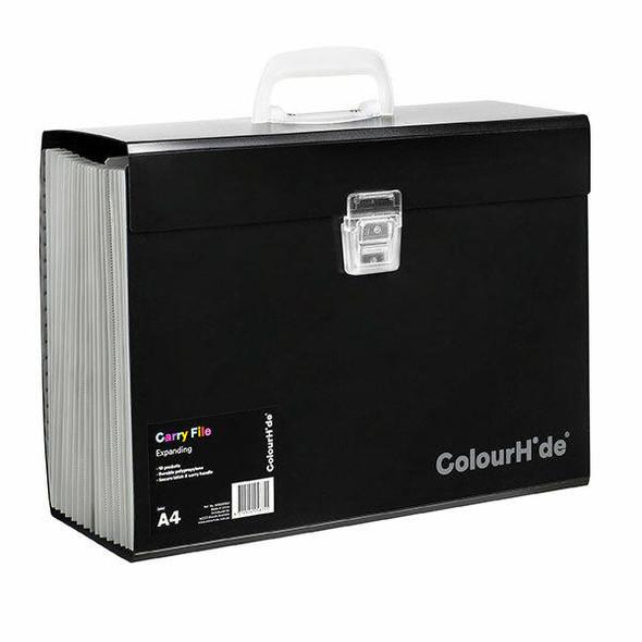 Colourhide Expanding File Pp Carry X CARTON of 5 90023002J