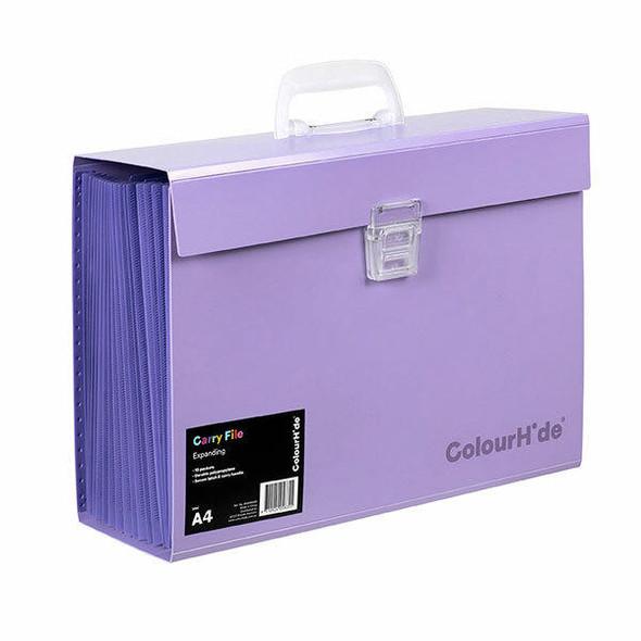 Colourhide Expanding File Pp Carry X CARTON of 5 90023019J