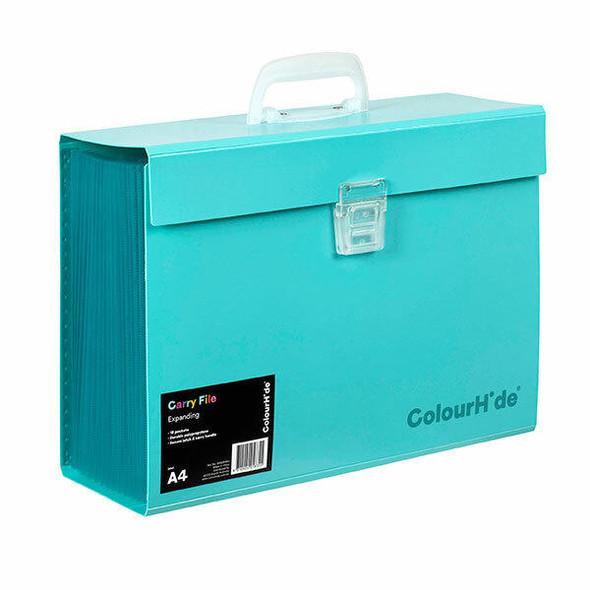 Colourhide Expanding File Pp Carry X CARTON of 5 90023032J