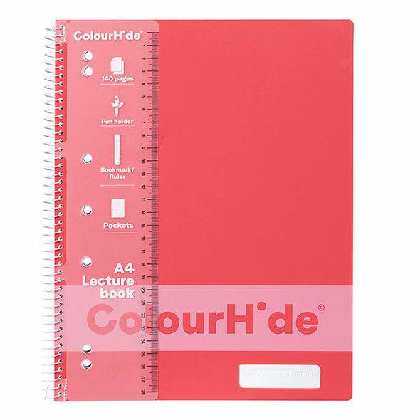 Colourhide Lecture Book A4 140page Watermelon X CARTON of 10 1719518J