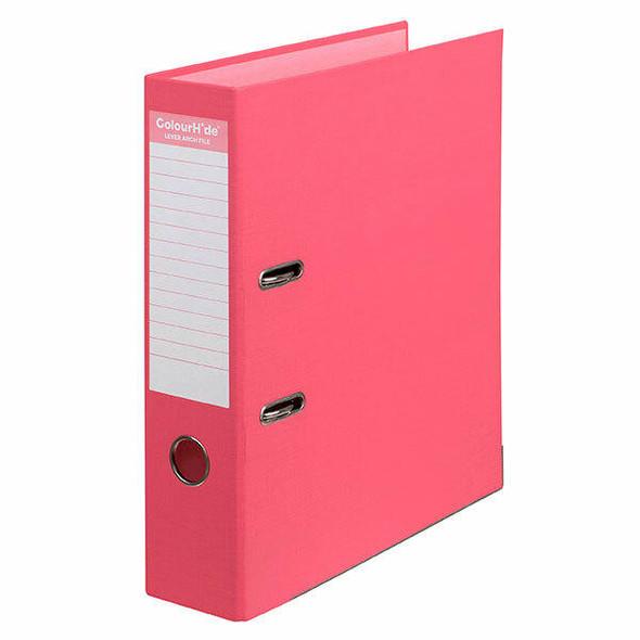 Colourhide Lever Arch File Pe A4 Watermelon X CARTON of 6 6802018J