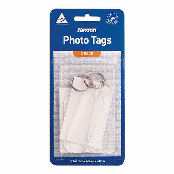 Kevron ID59 Key Tags Clear With Assorted Designs Pa X CARTON of 240 47054