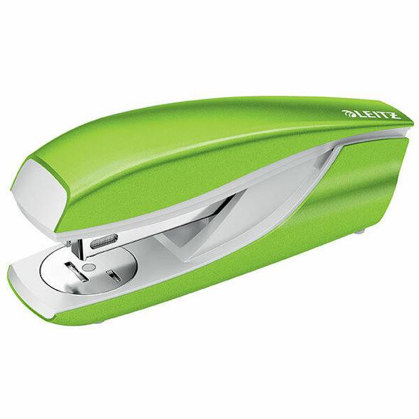 LEITZ Nexxt Wow Stapler 30sht Apple Green 55022254