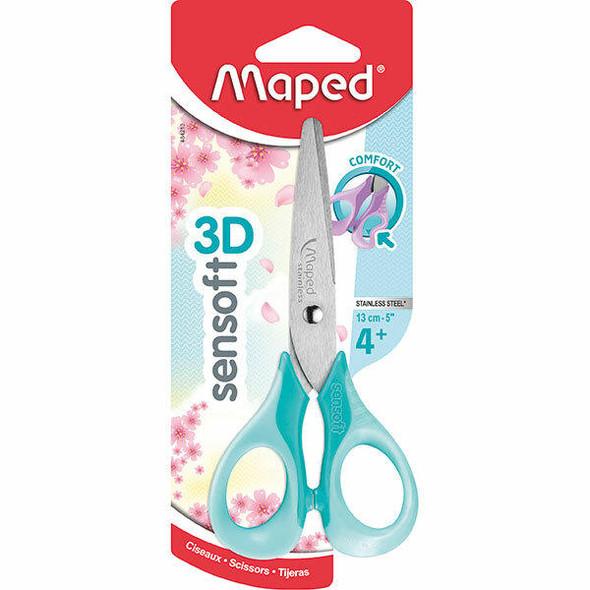 Maped Sensoft Scissors Pastel 13cm X CARTON of 12 8484213