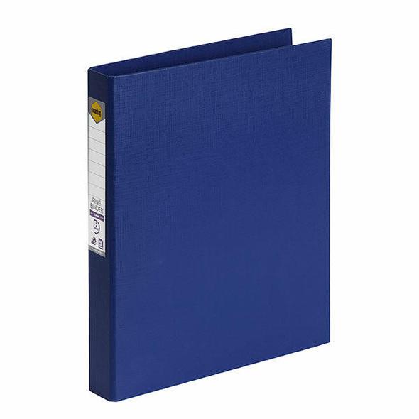 Marbig Ring Binder A4 25mm 2d Pe Blue X CARTON of 6 5022101