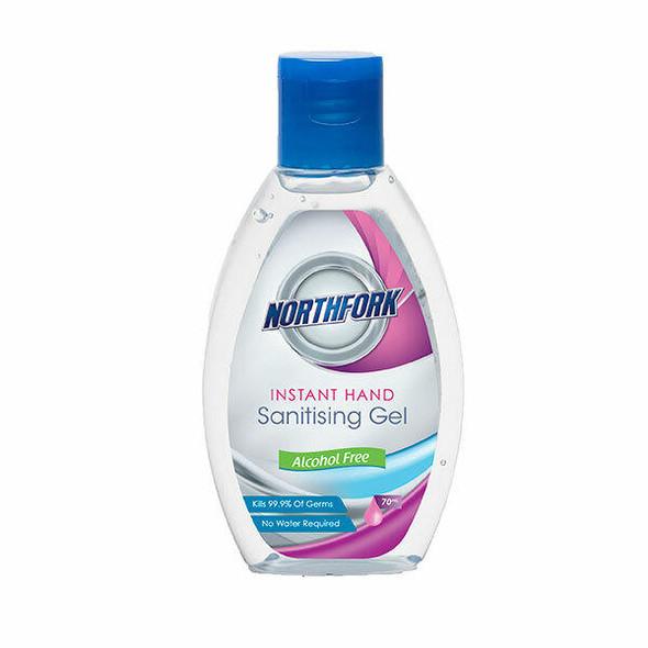 NORTHFORK Instant Hand Sanitising Gel Alcohol Free 70ml X CARTON of 24 635160200S