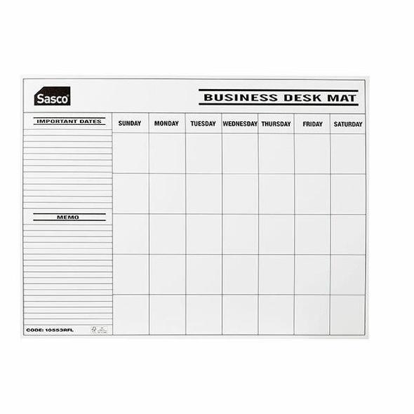Sasco Desk Calendar Refill Undated Pack12 10553RFL