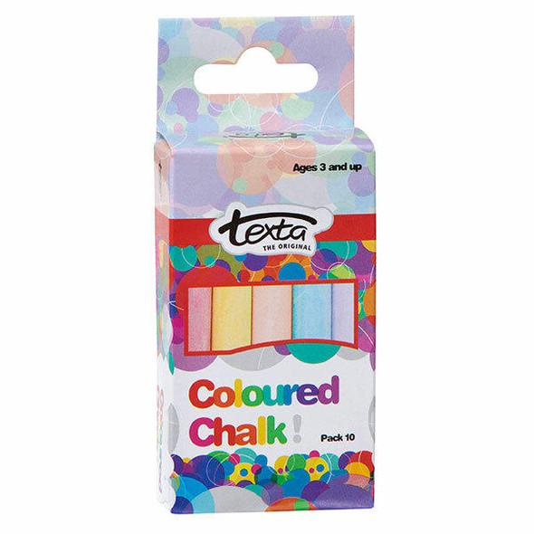 TEXTA Chalk Colours Pack10 50264