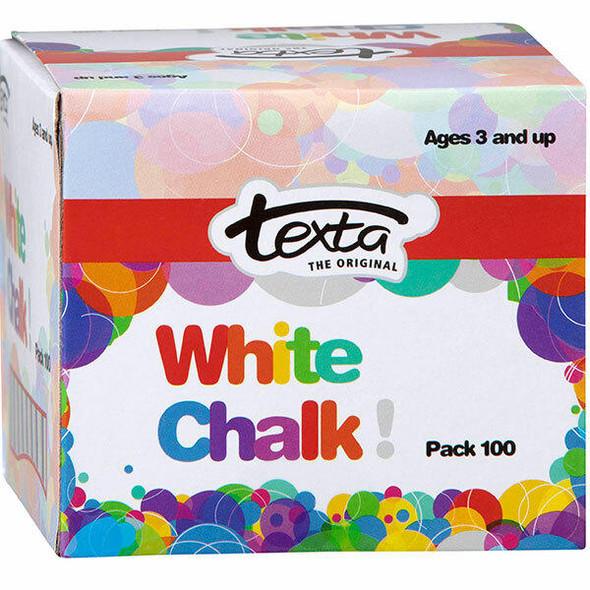 TEXTA Chalk White Pack100 50265