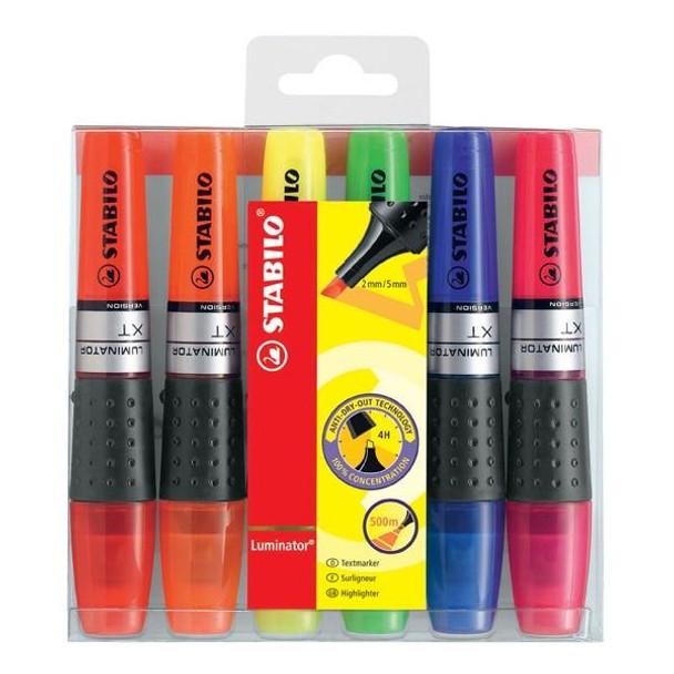 STABILO Luminator Highlighter Assorted Wallet6 0244300